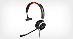 Evolve 40 MS Mono Corded USB-A Headset