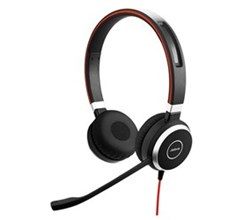 Jabra Microsoft Optimized Headsets  jabra evolve 40 stereo single pack microsoft optimized