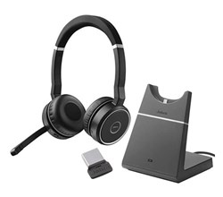 quick disconnect cables jabra evolve 75 ms with stand