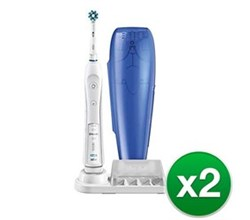 Twin Pack Toothbrushes oral b pro 5000 2 pack