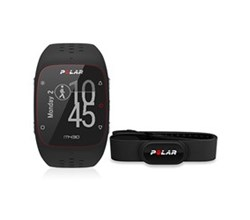 Polar GPS Sports Watches polar m430 black with h10 xs/s