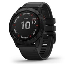 Garmin Fenix garmin fenix 6x pro black with black band