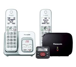 Panasonic panasonic kx tgd532w with range extender and call blocker