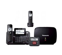 2 line phones panasonic kx tg9542b with range extender and call blocker