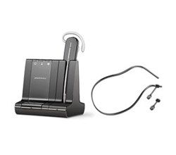 Plantronics Zoom Headsets  plantronics savi w740 with neckband 84606 01