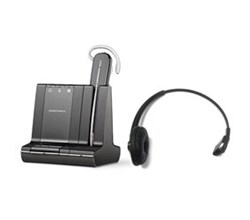 Plantronics Zoom Headsets  plantronics savi w740 with headband 84605 01