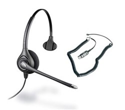 Plantronics Supra Series  plantronics supra plus hw251n with a10 cable