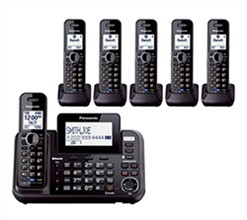 2 line phones panasonic KX TG9542B 4 KX TGA950B