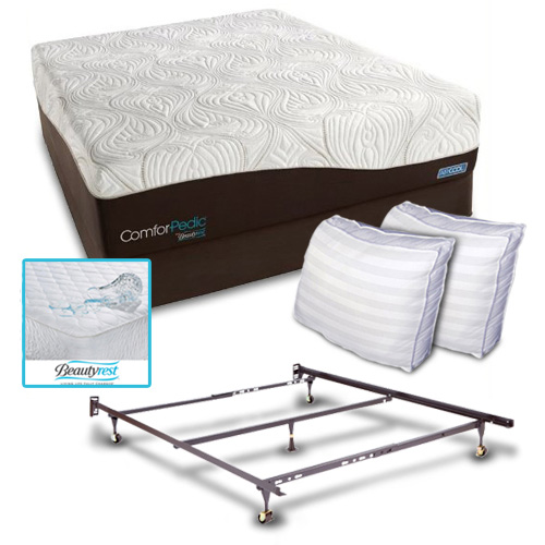Simmons Comforpedic From Beautyrest Restored Comfort Cal K Comforpedic From Beautyrest Restored Comfort Bundle at Sears.com