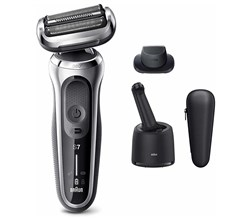 mens electric shavers braun 7071cc electric shaver with precision trimmer