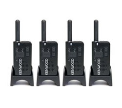 Kenwood Walkie Talkies / Two Way Radios   4 Radio kenwood pkt 23k 4 pack