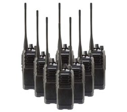 Kenwood Walkie Talkies / Two Way Radios   8 Radio kenwood nx p1300nuk 8 pack