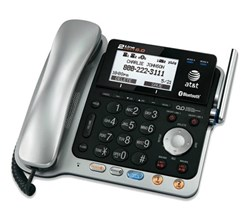 2 line phones at&t tl86109 base